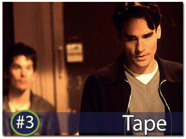 #3 Ethan Hawke's Downward Spiral of a movie - Tape