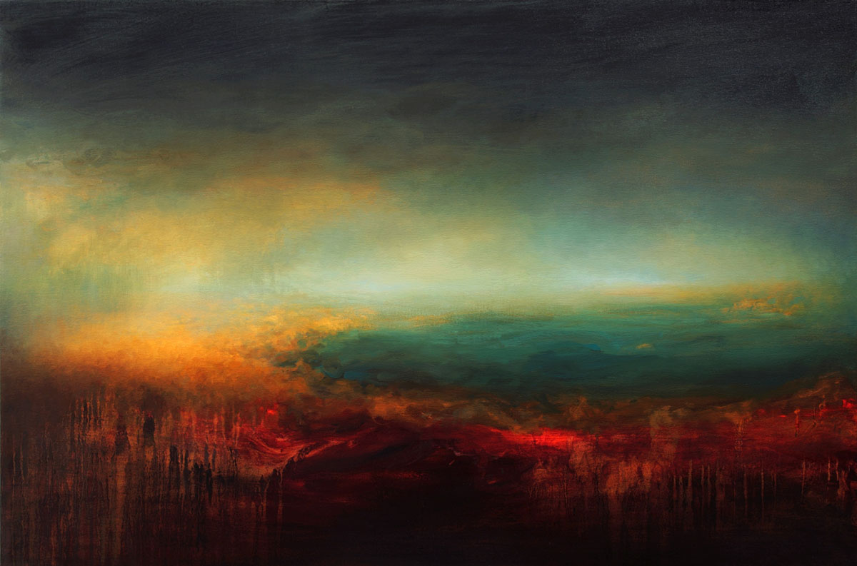 Oceanscape abstract art by samantha keely smith for Beautiful painting images