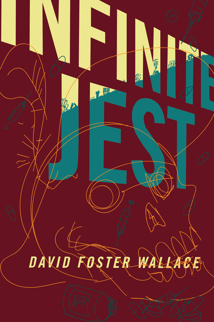 Book Cover Design For Competition : Infinite jest cover design competition