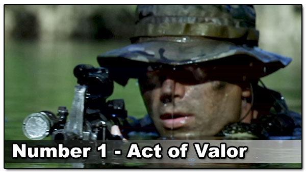 Top 10 Best Guy Movies - Act of Valor