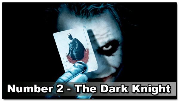 Top 10 Best Guy Movies - Dark Knight