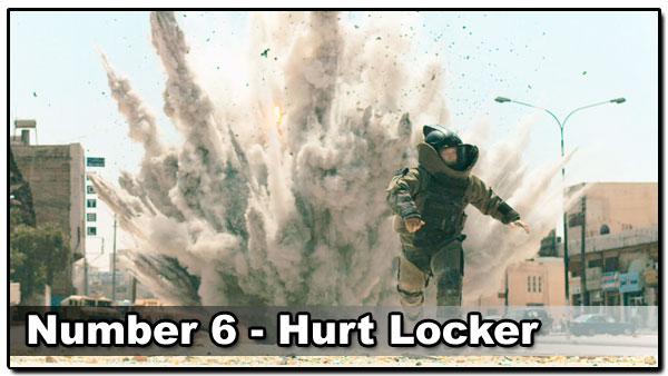 Top 10 Best Guy Movies - Hurt Locker