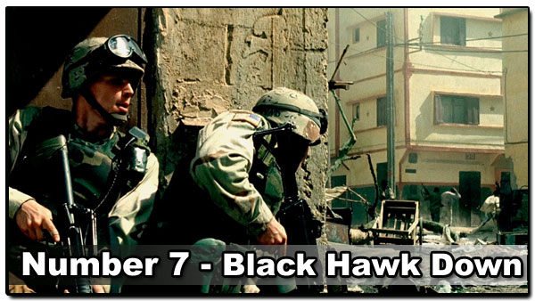 Top 10 Best Guy Movies - Black Hawk Down