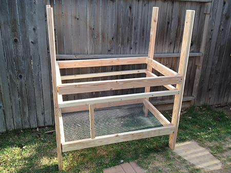 Best Rabbit Hutch Plans - Construction