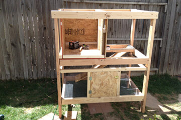 World's Greatest Rabbit Hutch Construction