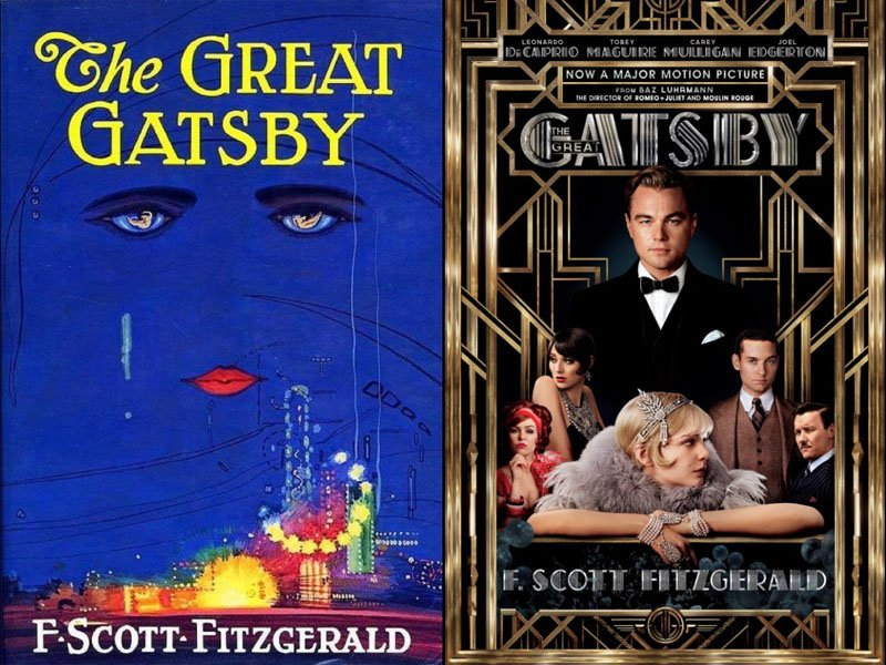 the great gatsby book movie