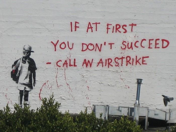 banksy-airstrike