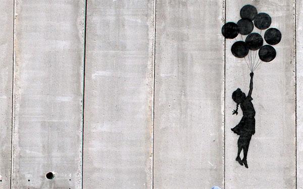 banksy israel