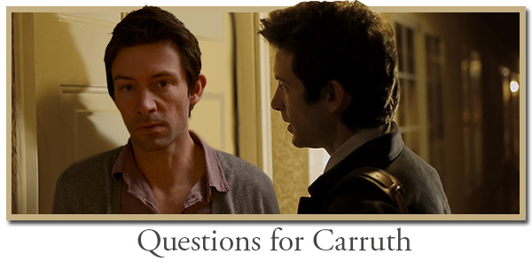 carruth questions and interview with the master