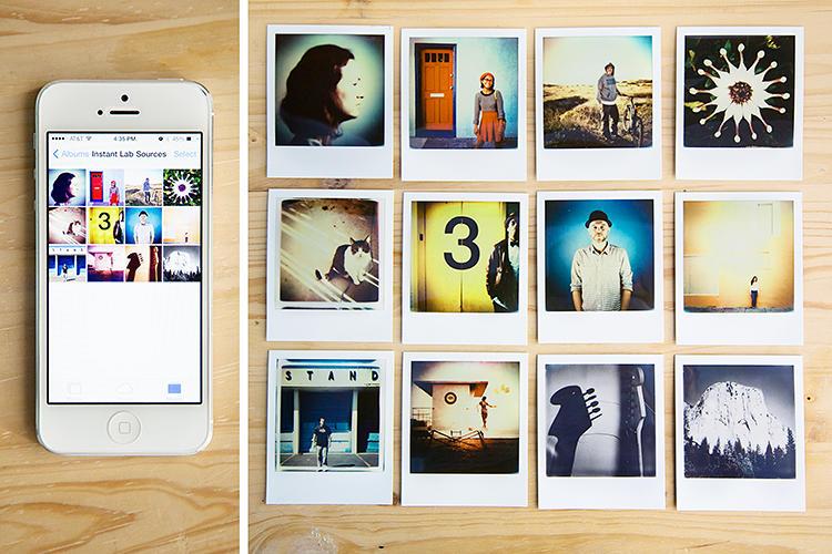 iphone polaroid impossible
