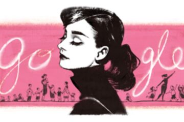 Audrey Hepburn Google Tribute