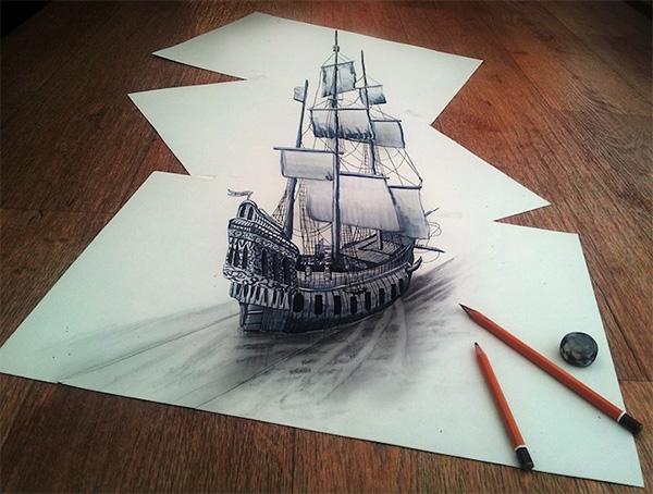 anamporphic ship
