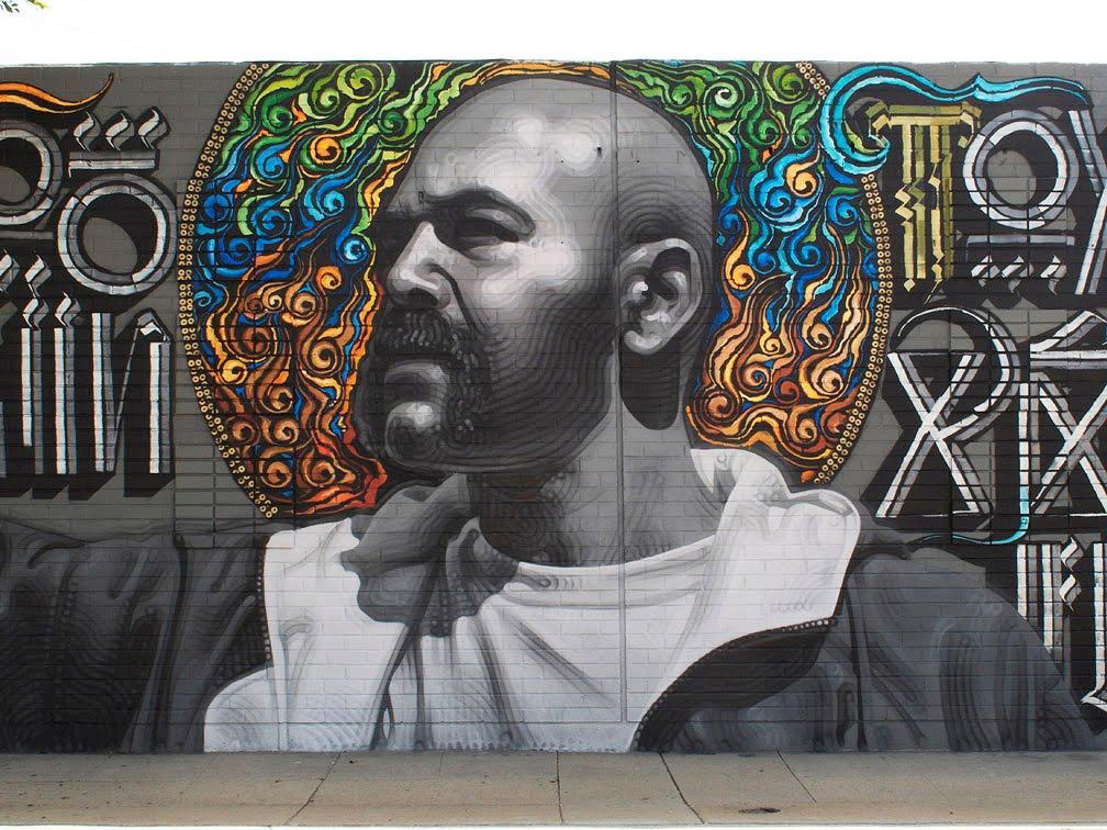 new el mac mural is genius
