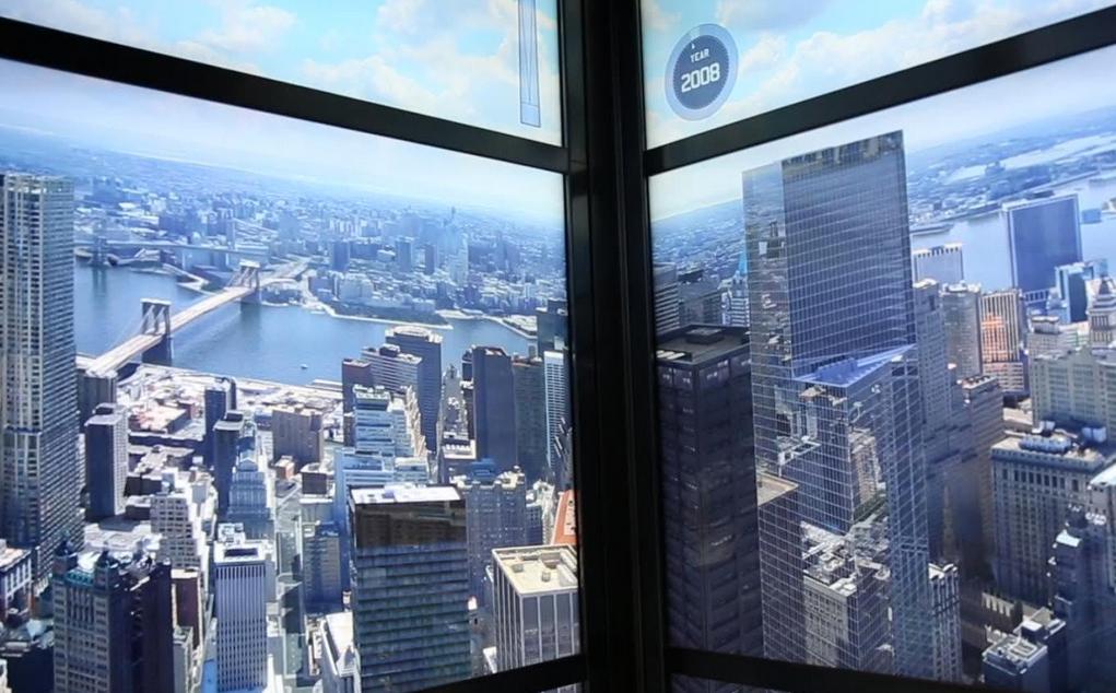 1 World Trade Center Elevator Historical Tribute