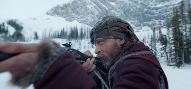 "This photo provided by Twentieth Century Fox shows Tom Hardy in a scene from the film, ""The Revenant."" The movie opens in U.S. theaters on Jan. 8, 2016. (Twentieth Century Fox via AP)"