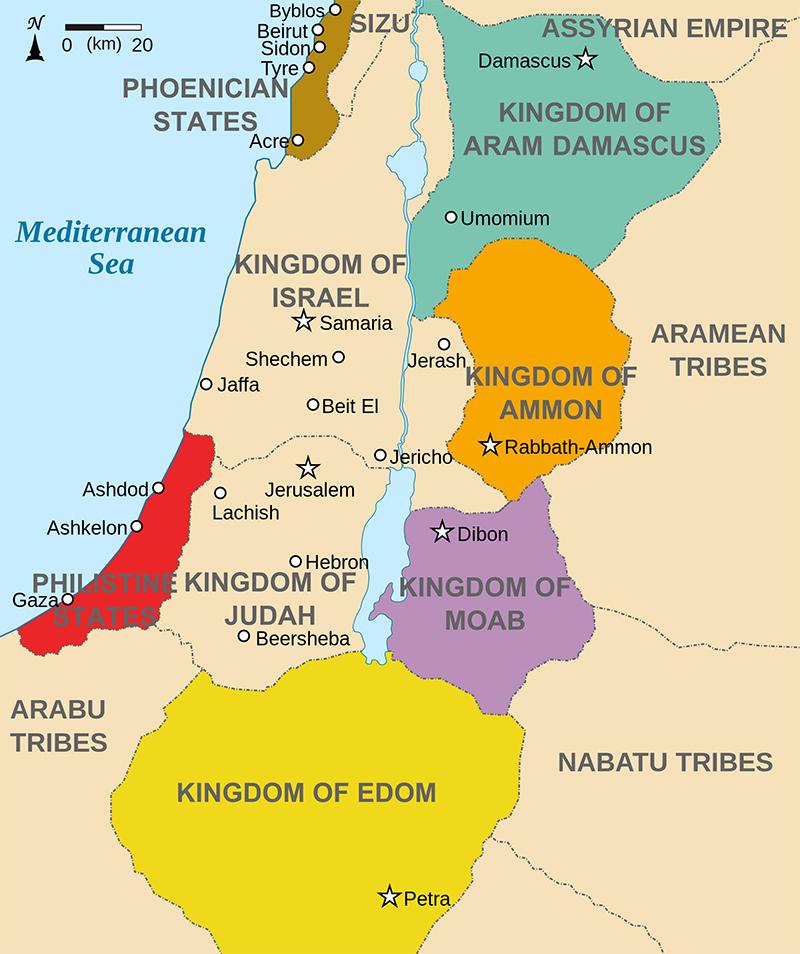 Edom-map