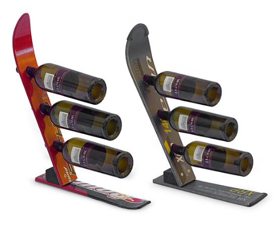 gifts-for-geeks-ski-wine-rack